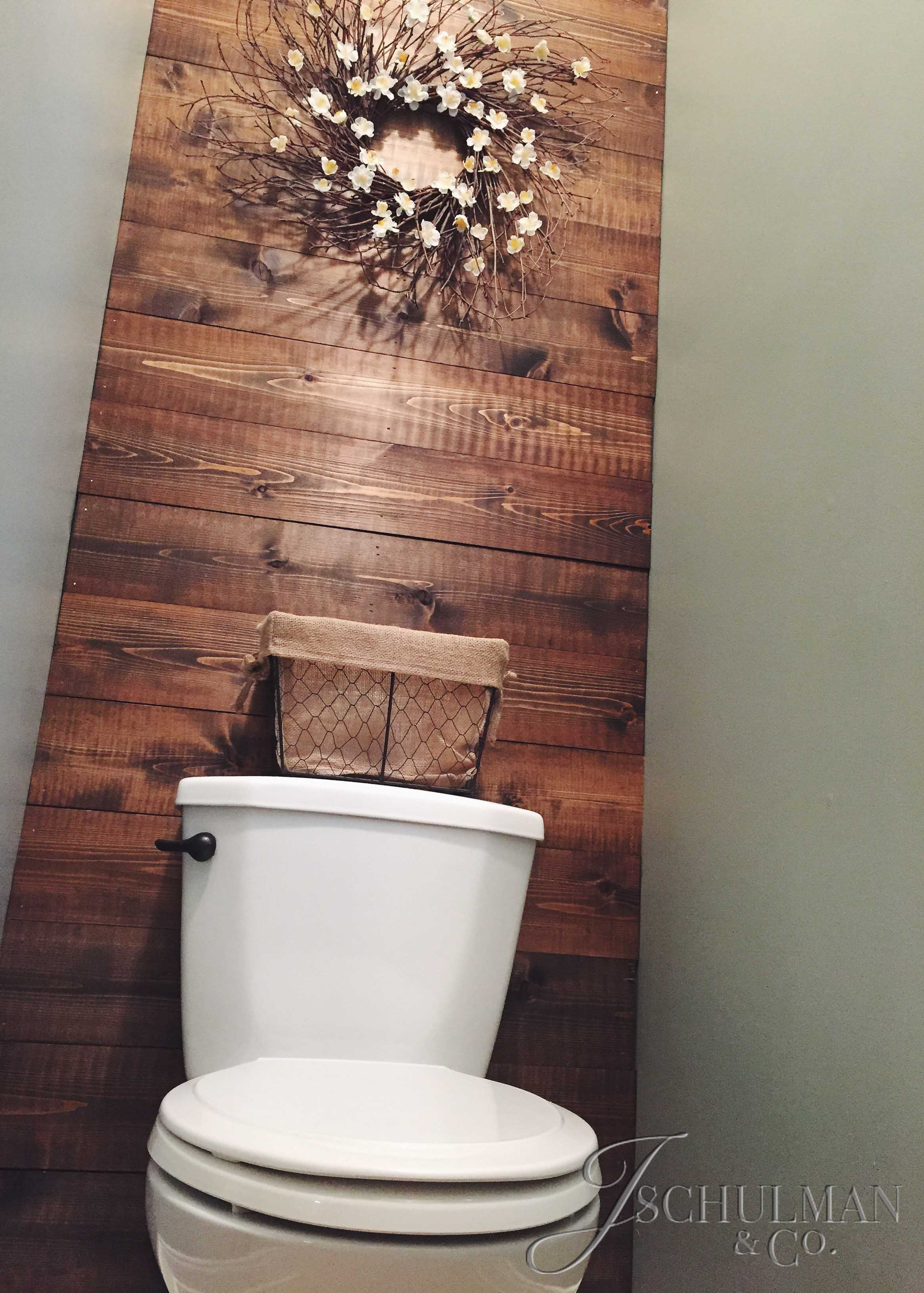 Diy Wood Panel Bathroom Accent Wall J Schulman Co