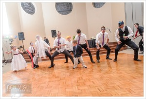 Sibling wedding haka initiation