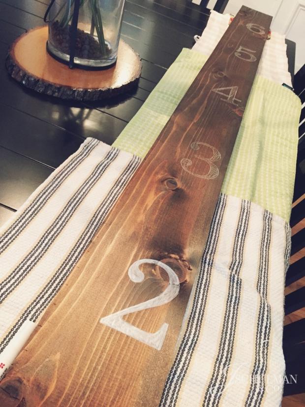 Rustic Growth Chart DIY Wood